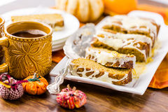 Pumpkin bread Royalty Free Stock Photo