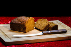 Pumpkin Bread stock photography