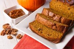 Pumpkin Bread Stock Photography