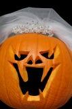 Pumpkin Bride Royalty Free Stock Images