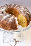 Pumpkin bundt cake Royalty Free Stock Images