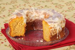 Pumpkin Cake Royalty Free Stock Image