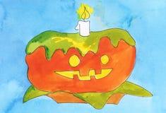 Pumpkin cake Stock Photography