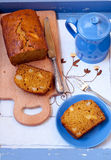 Pumpkin cake with apple Royalty Free Stock Photo