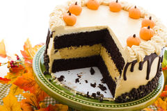 Pumpkin cake Royalty Free Stock Photo