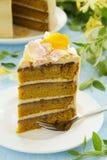 Pumpkin cake Stock Image