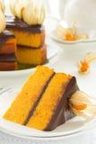 Pumpkin cake Royalty Free Stock Photos