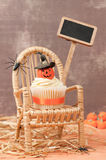 Pumpkin Cake For Halloween Royalty Free Stock Photo