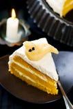 Pumpkin cake for Halloween Royalty Free Stock Photo