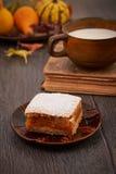 Pumpkin cake Stock Photos