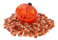 pumpkin candy Stock Photos