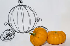 Pumpkin carriage. Drawing of cinderella's pumpkin carriage Royalty Free Stock Photography