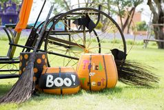 Pumpkin carriage Stock Photography