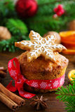 Pumpkin and carrot muffins Stock Images