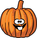 Pumpkin cartoon Stock Photography