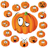 Pumpkin cartoon vector illustration