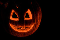 Scary pumpkin. A Scary Jack O Lantern Royalty Free Stock Images