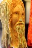 Pumpkin carving face Royalty Free Stock Image