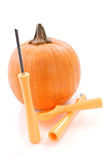 Pumpkin Carving Knife Stock Photography