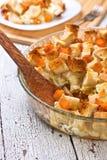 Pumpkin casserole Stock Photos