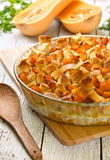 Pumpkin casserole Stock Image