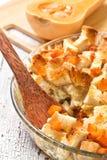 Pumpkin casserole Royalty Free Stock Images