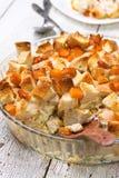 Pumpkin casserole Royalty Free Stock Photo
