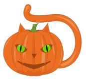 Pumpkin - the cat Stock Images