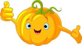 Pumpkin Character  giving thumbs up Royalty Free Stock Photo