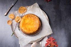 Free Pumpkin Cheese Cake Royalty Free Stock Photos - 79111478