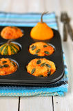 Pumpkin and Cheese Muffins Royalty Free Stock Image