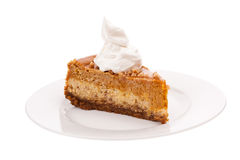 Pumpkin Cheesecake Royalty Free Stock Image