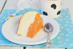 Pumpkin cheesecake Royalty Free Stock Photography