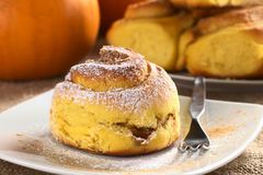 Free Pumpkin Cinnamon Roll Stock Photos - 21751893