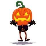 Pumpkin Clown Ghost Stock Images