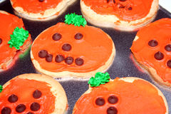 Pumpkin Cookie Royalty Free Stock Photos