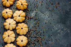 Pumpkin cookie Royalty Free Stock Image