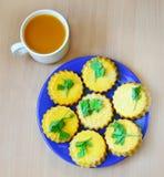 Pumpkin cookies Stock Photo