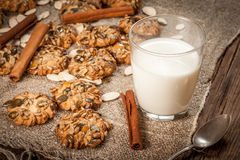 Pumpkin cookies. Royalty Free Stock Images