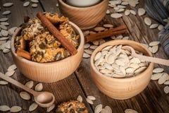 Pumpkin cookies. Stock Photo