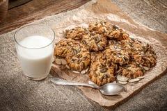 Pumpkin cookies. Royalty Free Stock Photos
