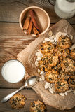 Pumpkin cookies. Stock Images