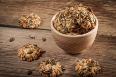 Pumpkin cookies. Royalty Free Stock Image