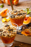 Pumpkin crumble Royalty Free Stock Photos