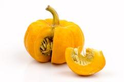 Pumpkin, Cushaw, Winter Squash (Cucurbita moschata Deene.) Stock Photography