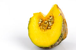 Pumpkin, Cushaw, Winter Squash (Cucurbita musehata Deene.). Stock Image