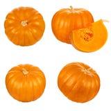 Pumpkin cut set Royalty Free Stock Photos