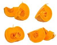 Pumpkin cut set Stock Image
