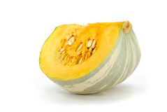 Pumpkin cut with smile seems. Pumpkin cut where the face with a smile seems Stock Photography