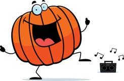 Pumpkin Dancing Stock Images